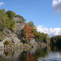 What is the Frontenac Biosphere reserve?