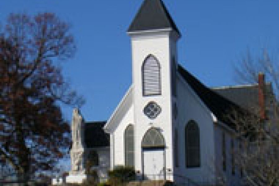Church in rockport